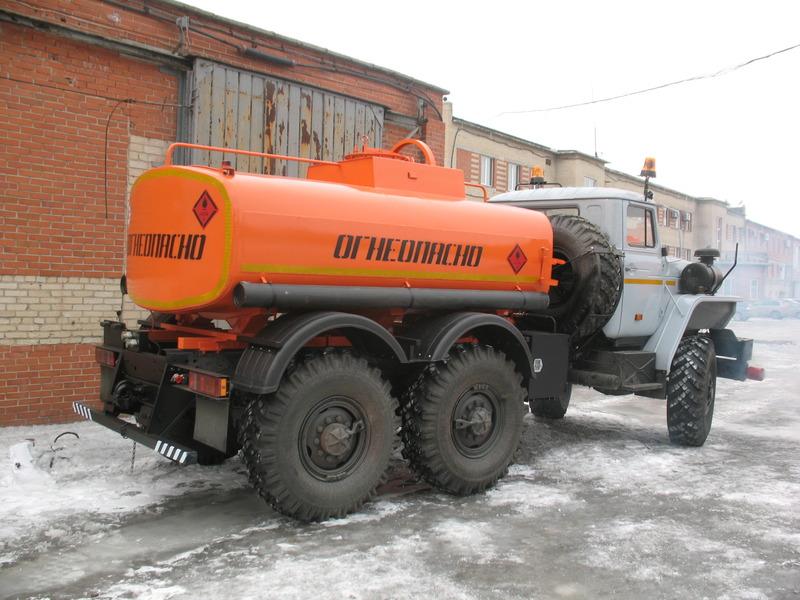 Бензовоз АЦ-6,5 «Урал 4320-1111-61М»