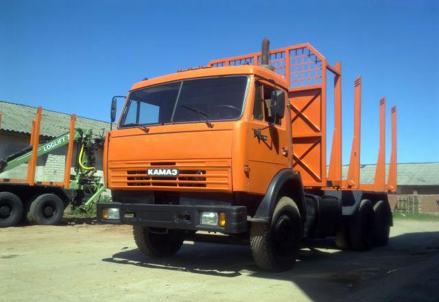 Сортиментовозный тягач «Камаз 53229»