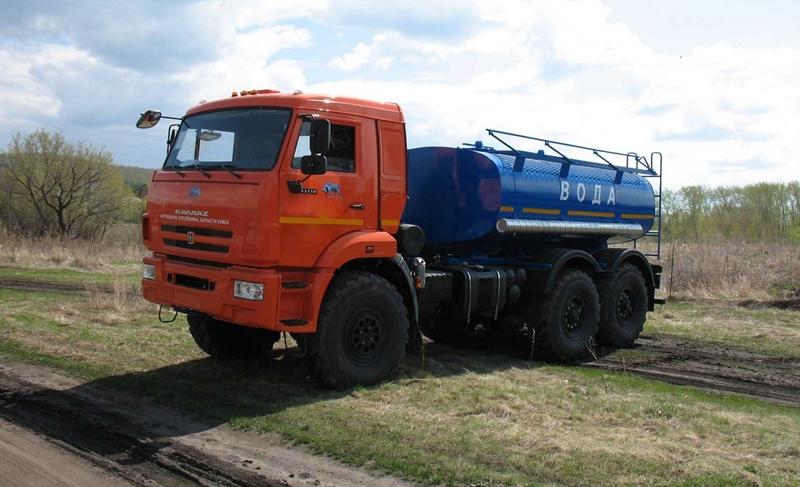 Водовоз АЦПТ-5 «Камаз 43118»