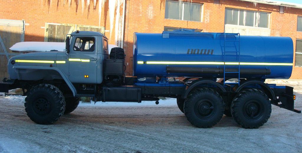 Водовоз АЦПТ-5,5 «Урал 4320-1912-60М»