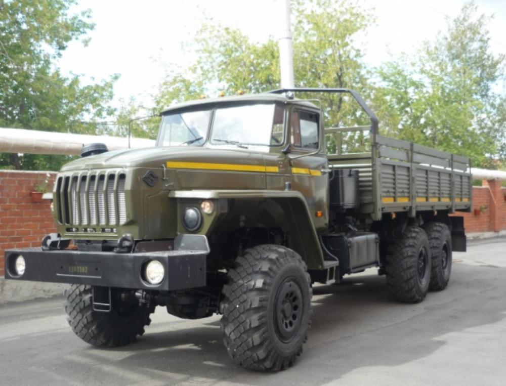 Бортовой автомобиль «Урал 4320-0911-70М»