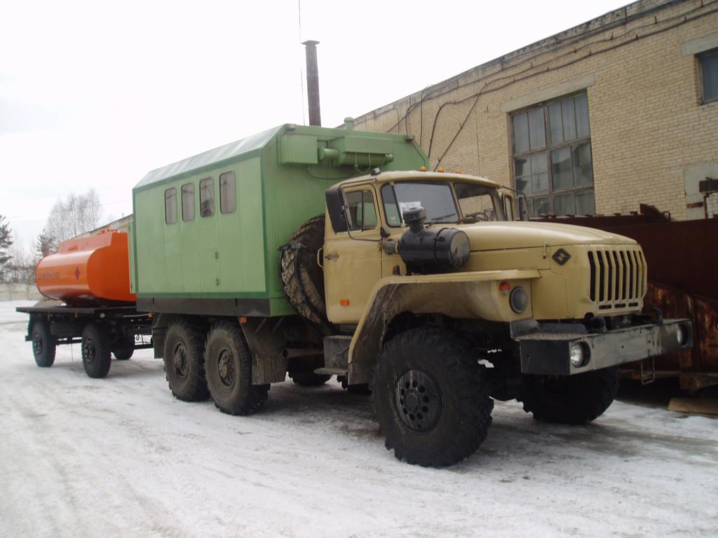 ПАРМ «Урал 4320», общий вид