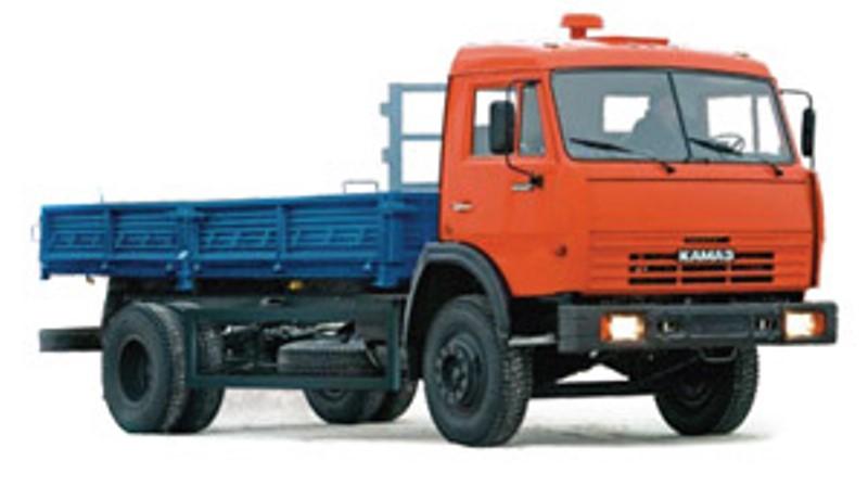 Бортовой автомобиль «Камаз 43253», общий вид