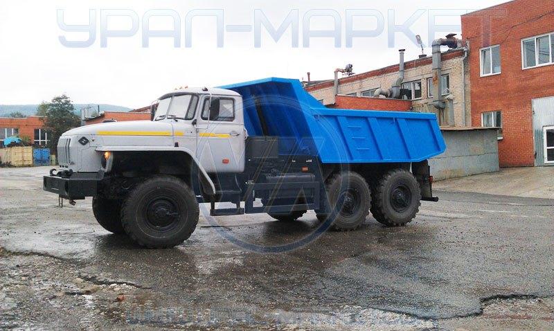 Самосвал «Урал 55571-1121-60М», общий вид