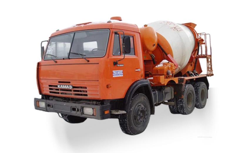 Автобетоносмеситель АБС «КамАЗ-65111», общий вид