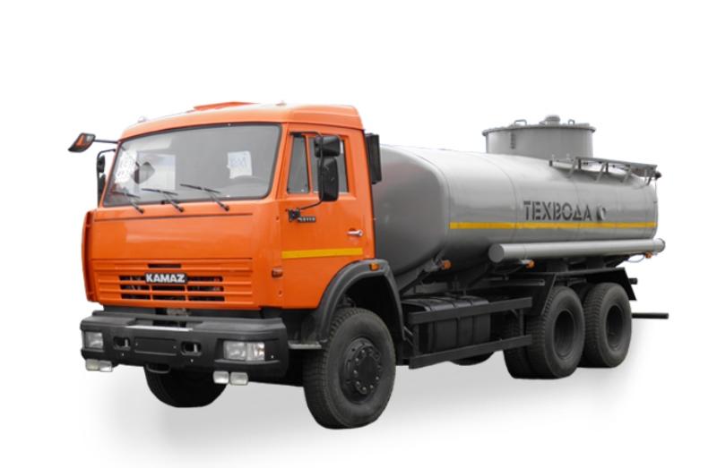 Водовоз АЦ-12 «Камаз 65115», общий вид