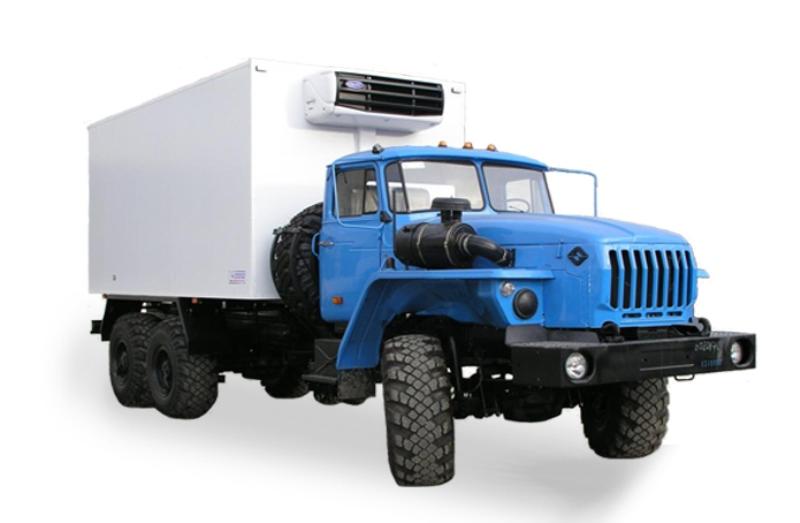 Изотермический фургон «Урал 4320», общий вид
