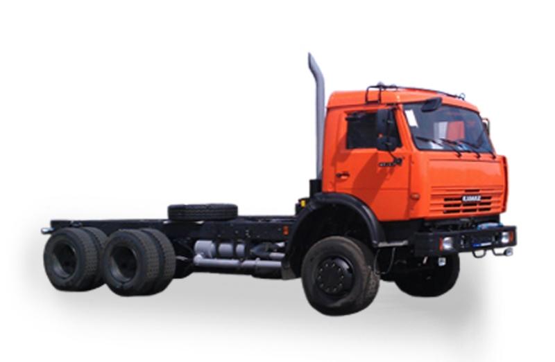 Шасси «КамАЗ 65111», общий вид