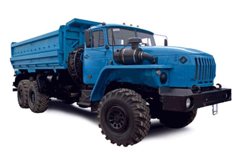 Самосвал «Урал 55571-1121-60М» с 2-х сторонней разгрузкой, общий вид