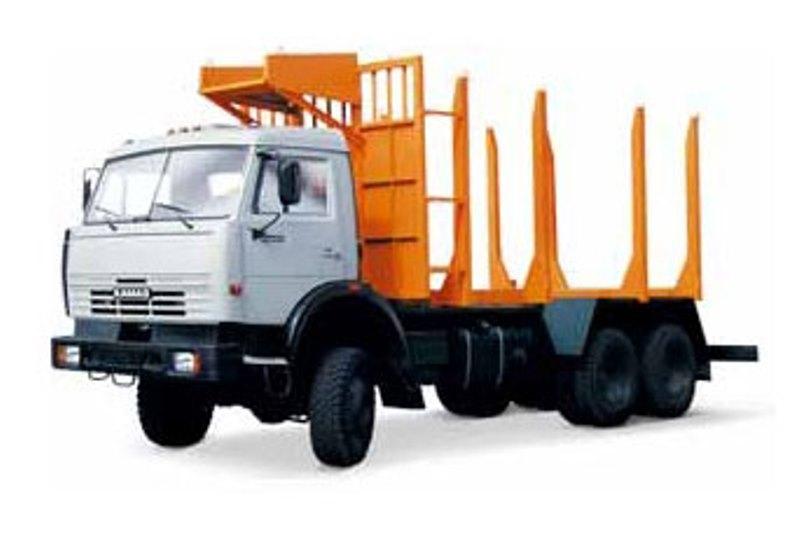 Сортиментовозный тягач «Камаз 65115», общий вид
