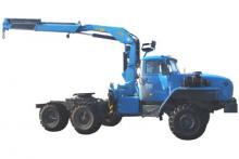 Седельный тягач «Урал 44202-0311-60М» с гидроманипулятором ИНМАН ИМ-95
