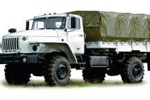 Бортовой автомобиль «Урал 43206-0112-61М»