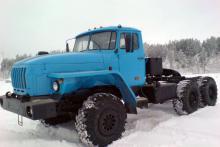 Седельный «Урал 55571», общий вид