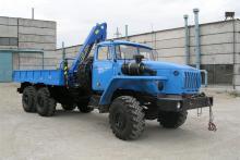 Бортовой автомобиль «Урал 4320-0911-60М» с гидроманипулятором ИНМАН ИМ-25