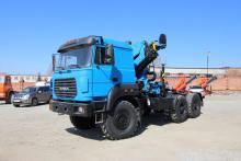 Седельный тягач «Урал 44202-3511-82М» с ГМ ИНМАН ИМ 150