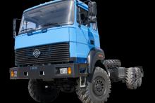 Шасси «Урал 4320-4951-80М» Длиннобазовое