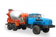 Автобетоносмеситель АБС - 5м3 «Урал 55571-60», общий вид