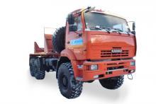 Трубоплетевозный тягач «КамАЗ 65222», общий вид