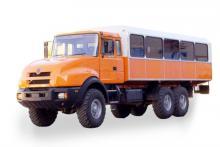 Вахтовый автобус «Урал 3255-79», общий вид