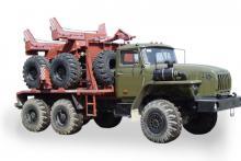 Трубоплетевоз 4456N1-10 на шасси Урал 5557-1112-60М