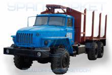 Сортиментовоз 4456N7-10 на шасси Урал 4320-1912-60М