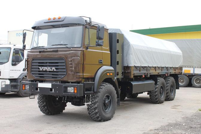Бортовой автомобиль «Урал 4320-3171-81М» Б/К