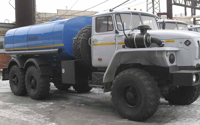 Водовоз АЦПТ-8 «Урал 5557-1112-60М»