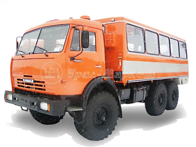 Вахтовый автобус «НЕФАЗ 4208-17» на базе «Камаз 43114»