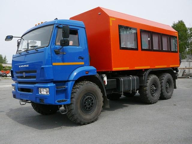 Автобус вахтовый 22 места Камаз 43118