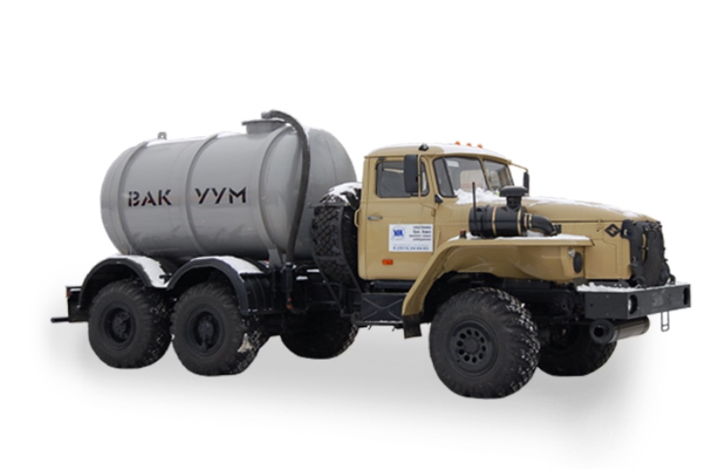 Машина вакуумная МВ-7 «Урал 4320-1111-61М», общий вид