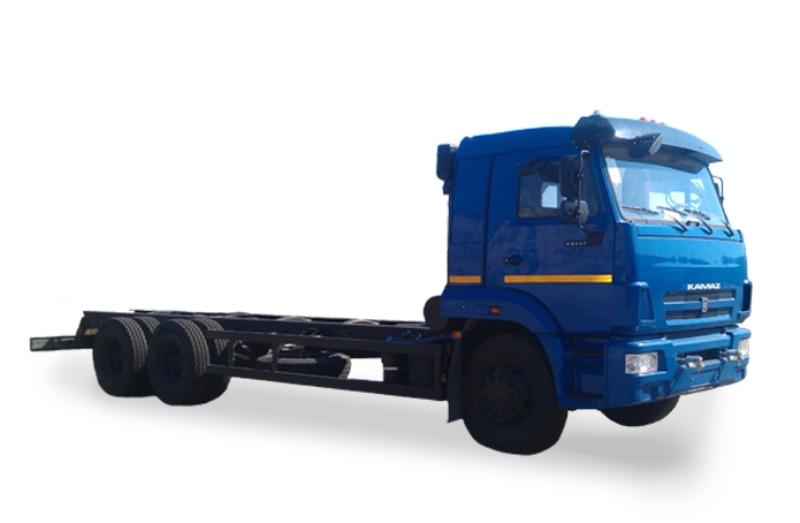 Шасси «КамАЗ 65117», общий вид