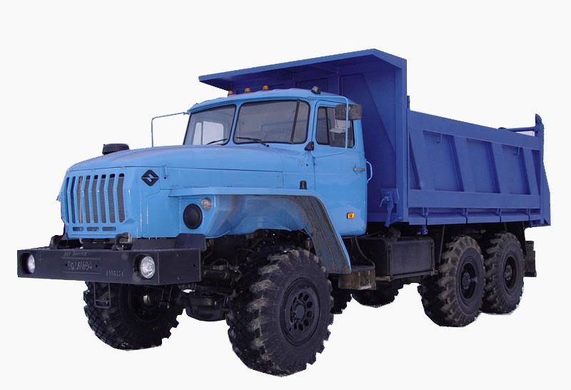 «Урал 55571-1121-60М» с 3-х сторонней разгрузкой, общий вид