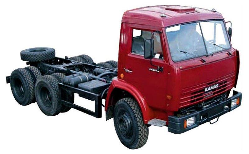 Шасси «КамАЗ 65115», общий вид