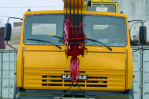 Автокран «Ивановец» 25т, вид спереди