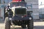 Бортовой автомобиль «Урал 4320-0911-60М» с гидроманипулятором, вид спереди