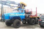 Лесовоз с гидроманипулятором ОМТЛ-97 4456N5-20 Урал 55571-1151-60М