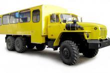 Вахтовый автобус «Урал 3255-0020-61»