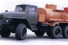Бензовоз АЦ-7,5 «Урал 5557-1112-60М»