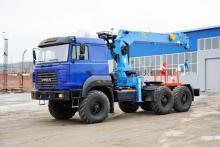 Седельный тягач «Урал 44202-3511-82М» с КМУ SS1506A
