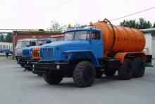 Автоцистерна нефтепромысловая АЦН-10 «Урал 4320-1912-60М»