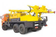 Буровая установка УРБ-2А2 на Шасси КамАЗ 43118