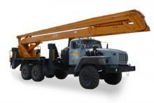 Автогидроподъемник ВС-28У «Урал 4320», общий вид